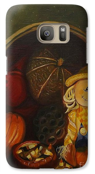 Galaxy Case featuring the photograph Fall Friend by Brigitte Emme