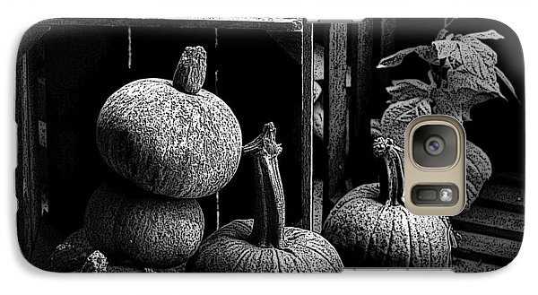 Galaxy Case featuring the photograph Fall Harvest by Kathleen Stephens