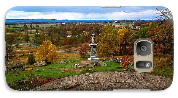 Galaxy Case featuring the photograph Fall In Gettysburg by Amazing Photographs AKA Christian Wilson