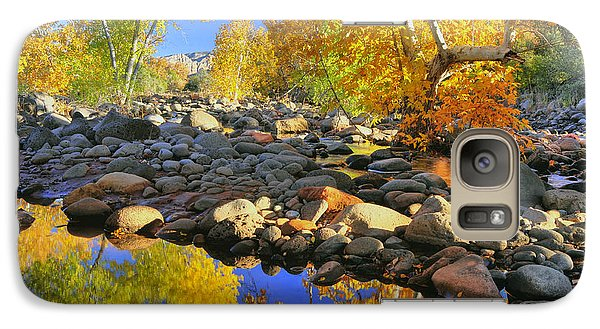 Galaxy Case featuring the photograph Fall In Oak Creek  by Dan Myers