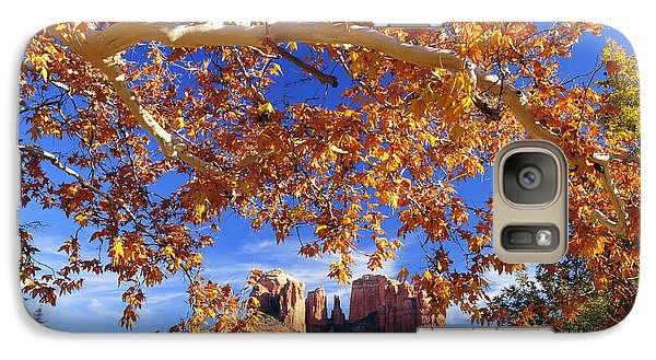 Galaxy Case featuring the photograph Fall In Sedona by Dan Myers