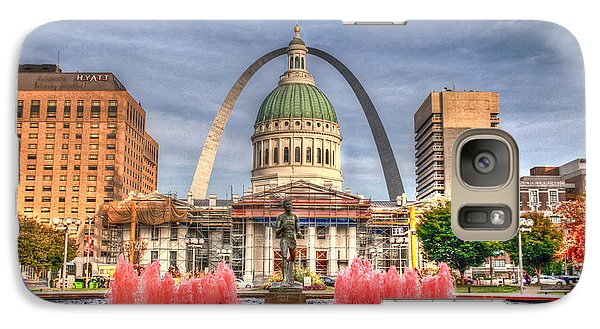 Galaxy Case featuring the photograph Fall In St. Louis by Deborah Klubertanz