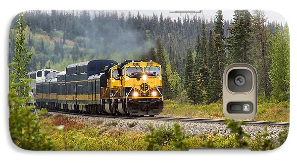 Galaxy Case featuring the photograph Fall Is Here In Alaska by Michael Rogers