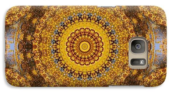 Galaxy Case featuring the digital art Fall Leaf Pattern by Aliceann Carlton