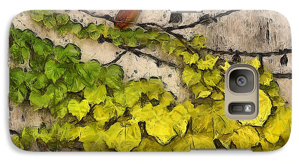 Galaxy Case featuring the photograph Fall Leaves I by Brian Davis