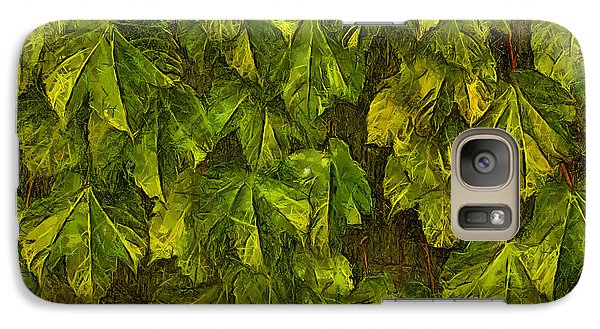 Galaxy Case featuring the photograph Fall Leaves IIi by Brian Davis