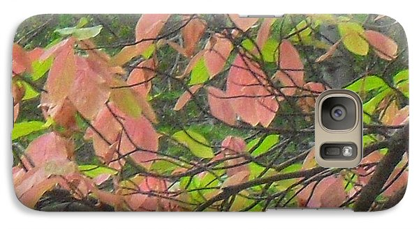 Galaxy Case featuring the photograph Fall Leaves by Kristen R Kennedy