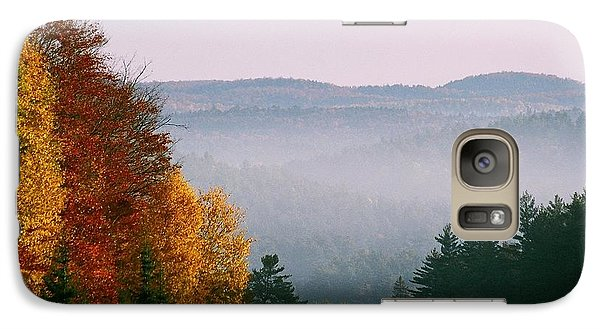 Galaxy Case featuring the photograph Fall Morning by David Porteus