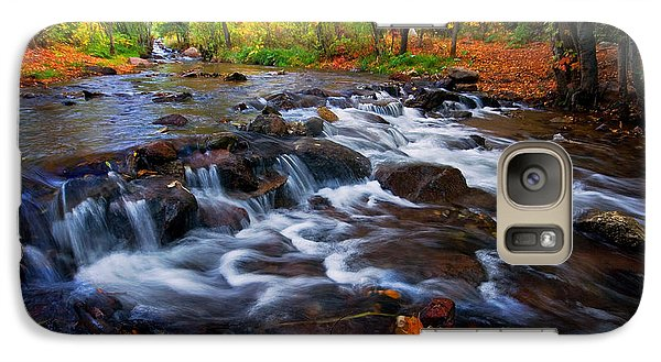 Galaxy Case featuring the photograph Fall On Fountain Creek by Ronda Kimbrow