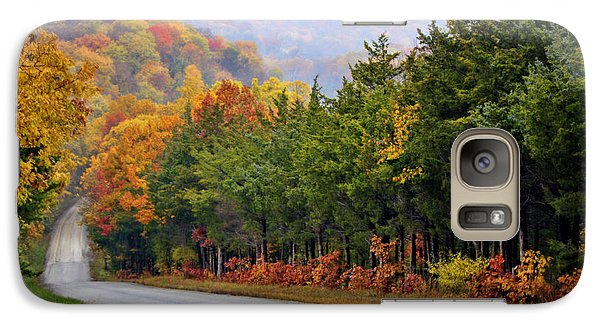 Cricket Galaxy S7 Case - Fall On Fox Hollow Road by Cricket Hackmann