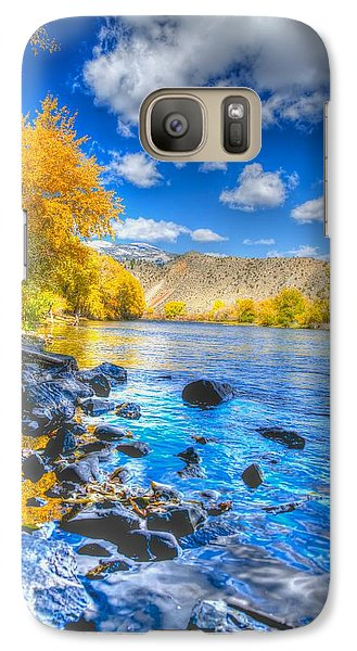 Galaxy Case featuring the photograph Fall On The Big Hole River  by Kevin Bone