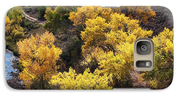 Galaxy Case featuring the photograph Fall On The Chama River by Roselynne Broussard