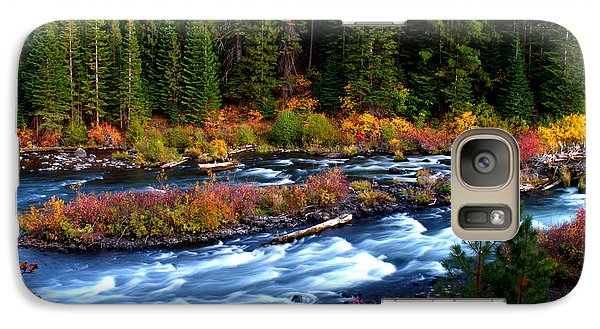 Galaxy Case featuring the photograph Fall On The Deschutes River by Kevin Desrosiers
