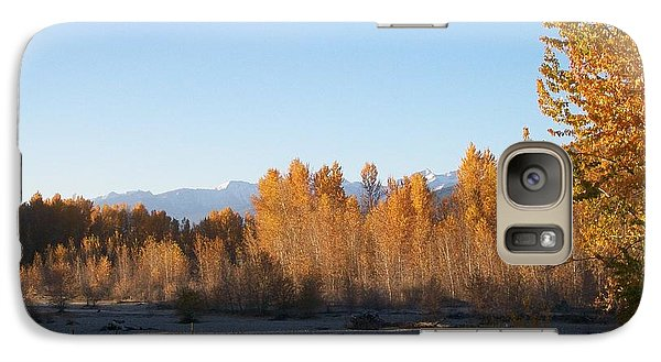 Galaxy Case featuring the photograph Fall On The River by Jewel Hengen