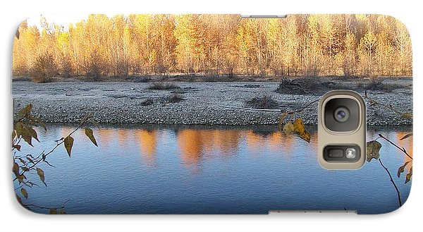 Galaxy Case featuring the photograph Fall Reflection 2 by Jewel Hengen