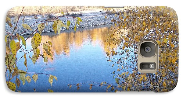 Galaxy Case featuring the photograph Fall Reflection by Jewel Hengen