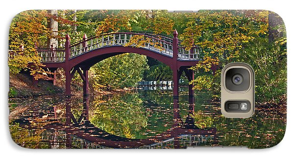 Galaxy Case featuring the photograph Fall Reflections At Crim Dell by Jerry Gammon