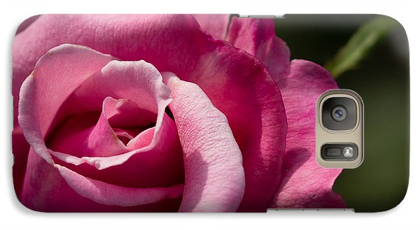 Galaxy Case featuring the photograph Fall Rose by Cathy Donohoue