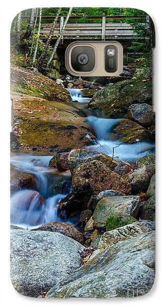 Galaxy Case featuring the photograph Fall Scene In Nh by Mike Ste Marie