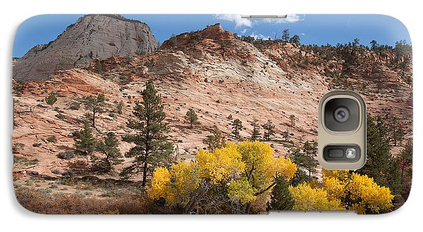 Galaxy Case featuring the photograph Fall Season At Zion National Park by John M Bailey