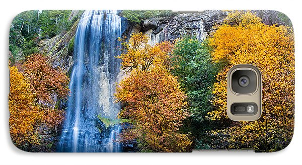Fall Silver Falls Galaxy S7 Case by Robert Bynum