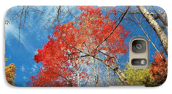Galaxy Case featuring the photograph Fall Sky by Patrick Shupert