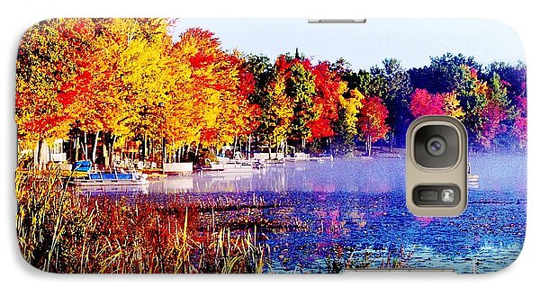 Galaxy Case featuring the photograph Fall Splendor Of Mid-michigan by Daniel Thompson