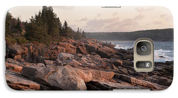 Galaxy Case featuring the photograph Fall Sunrise In Acadia by Phyllis Peterson