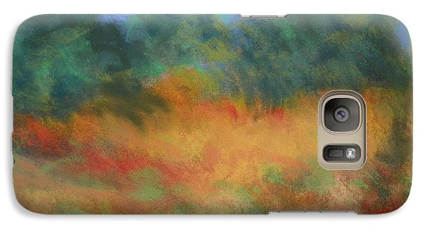 Galaxy Case featuring the photograph Fall Tonal Landscape by Shirley Moravec