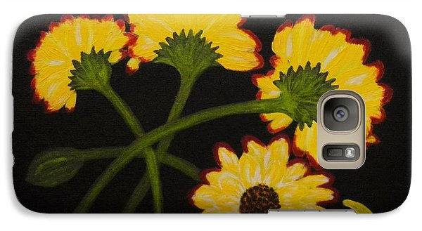 Galaxy Case featuring the painting Fallen by Celeste Manning