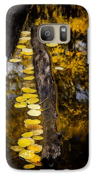 Galaxy Case featuring the photograph Fallen by The Forests Edge Photography - Diane Sandoval