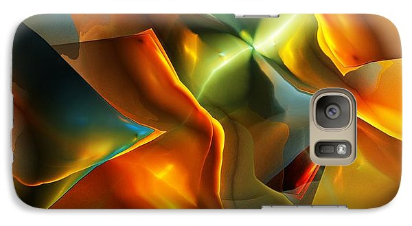Galaxy Case featuring the digital art Falling 2014 by David Lane