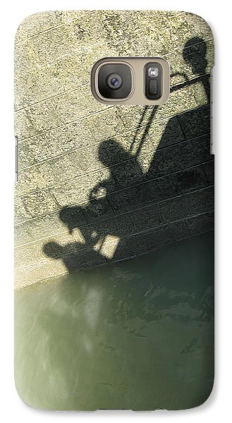 Galaxy Case featuring the photograph Falling Into The Water by Menega Sabidussi
