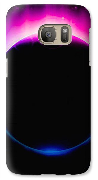 Galaxy Case featuring the photograph Falling  by Naomi Burgess
