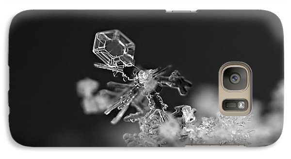 Falling Snowman Galaxy S7 Case