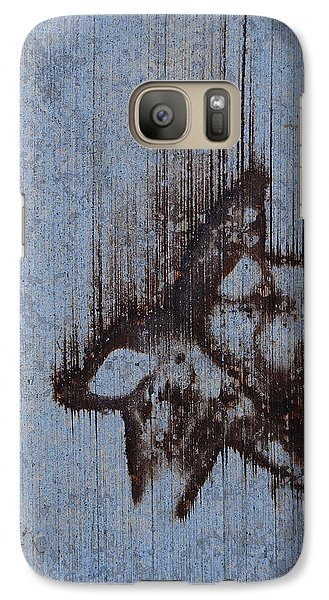 Galaxy Case featuring the photograph Falling Star by Jani Freimann