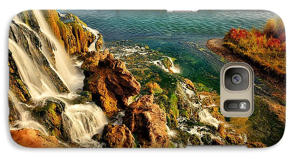 Galaxy Case featuring the photograph Falls Creek Waterfall by Greg Norrell