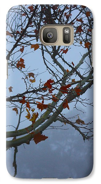 Galaxy Case featuring the photograph Fall's Final Colors by Richard Stephen