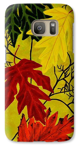 Galaxy Case featuring the painting Fall's Gift Of Color by Celeste Manning