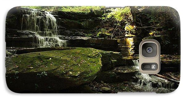 Galaxy Case featuring the photograph Fallsbrook Falls by Debra Fedchin