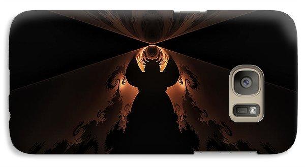 Galaxy Case featuring the digital art False Prophet by GJ Blackman