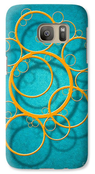 Galaxy Case featuring the digital art Family Circles by Cristophers Dream Artistry