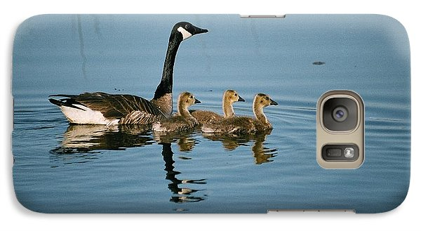 Galaxy Case featuring the photograph Family Outing by David Porteus
