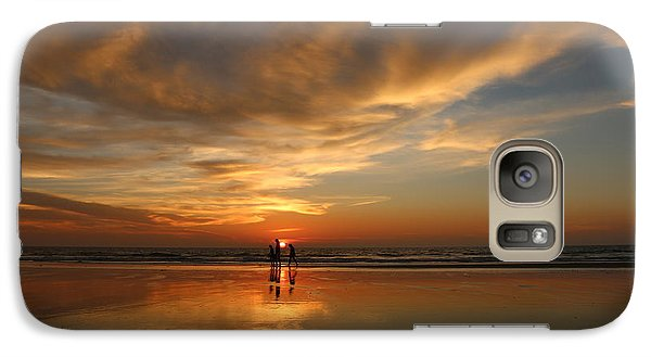 Family Reflections At Sunset - 2 Galaxy S7 Case