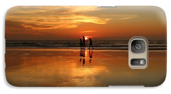 Family Reflections At Sunset -3  Galaxy S7 Case