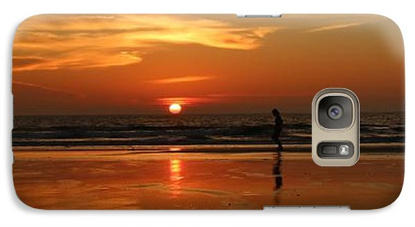 Family Reflections At Sunset - 4 Galaxy S7 Case