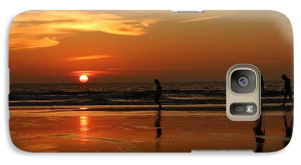 Family Reflections At Sunset - 5 Galaxy S7 Case
