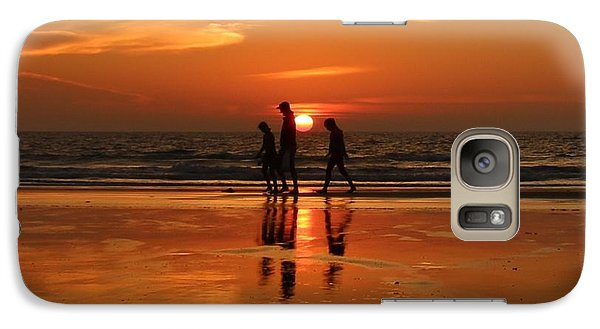 Family Reflections At Sunset - 1 Galaxy S7 Case