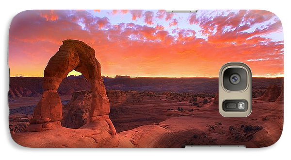 Famous Sunset Galaxy S7 Case by Kadek Susanto