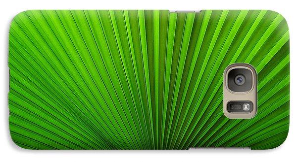 Galaxy Case featuring the photograph Fan Palm by Ranjini Kandasamy